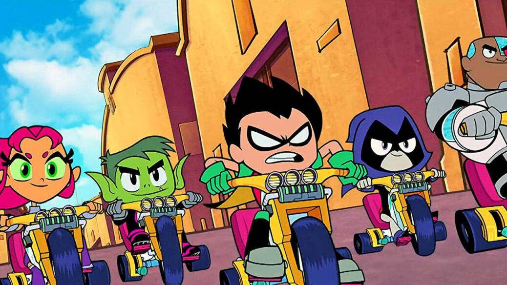 'Teen Titans Go! To The Movies' Coming Out!